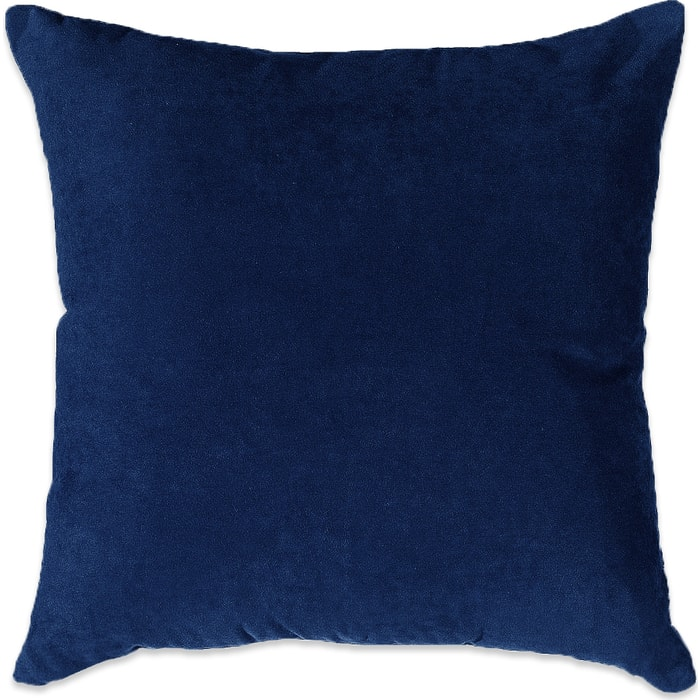 Декоративная подушка Mypuff Темно-синяя мебельная ткань pil_502