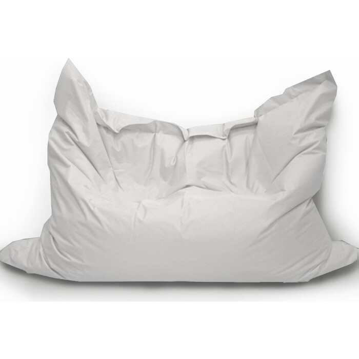 Кресло бескаркасное Mypuff Большая подушка серебристо-серая оксфорд bp_265