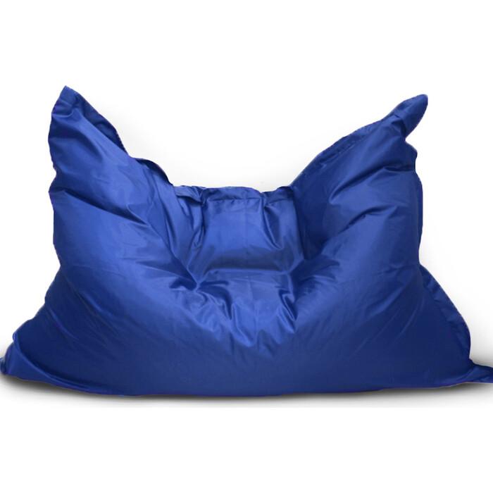 Кресло бескаркасное Mypuff Большая подушка василек оксфорд bp_171