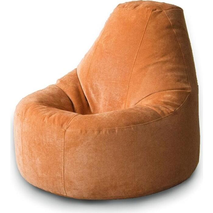 Кресло бескаркасное Mypuff Люкс лисий мебельный велюр bn_473