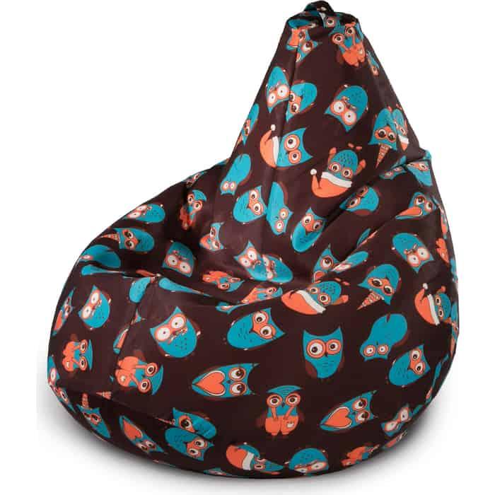 Кресло-мешок Mypuff Кресло мешок ночные новогодние совы b_579