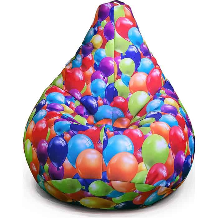 Кресло бескаркасное Mypuff Груша воздушные шары размер стандарт мебельный хлопок b_359