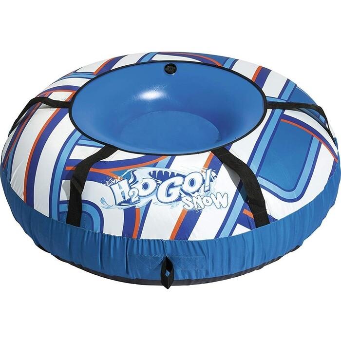 Надувной тюбинг Bestway 39055 BW H2OGO! 127 см, морозустойчивый ПВХ, защитный цветной чехол