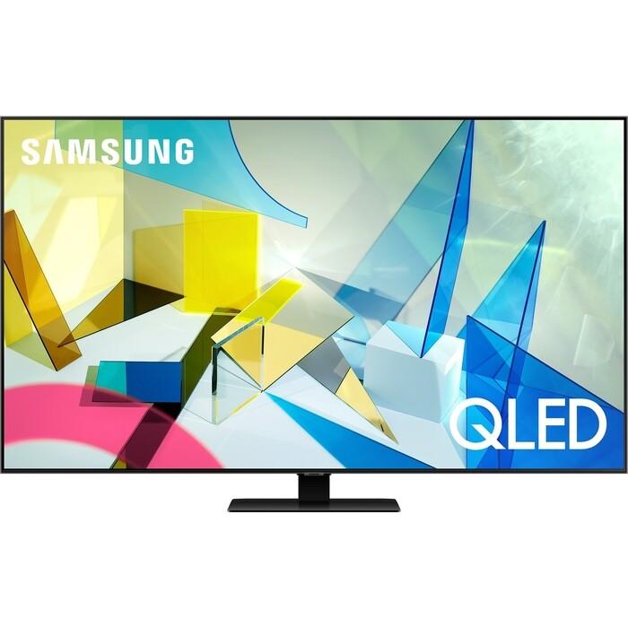 Фото - QLED Телевизор Samsung QE50Q80TAU телевизор samsung ue32t4510auxru
