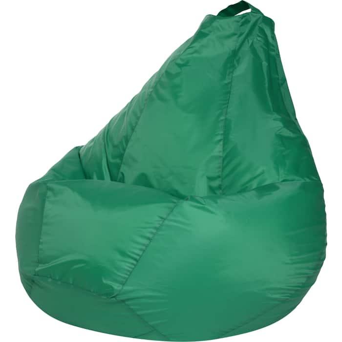 Кресло-мешок Bean-bag Груша зеленое оксфорд XL