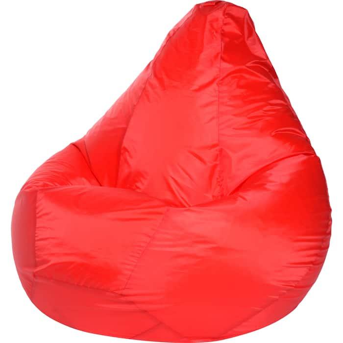 Кресло-мешок Bean-bag Груша красное оксфорд XL