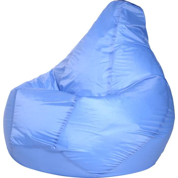 Кресло-мешок Bean-bag Груша голубое оксфорд XL