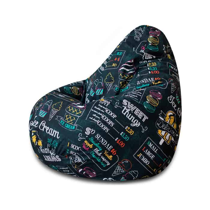 Кресло-мешок Bean-bag Груша Ice cream XL