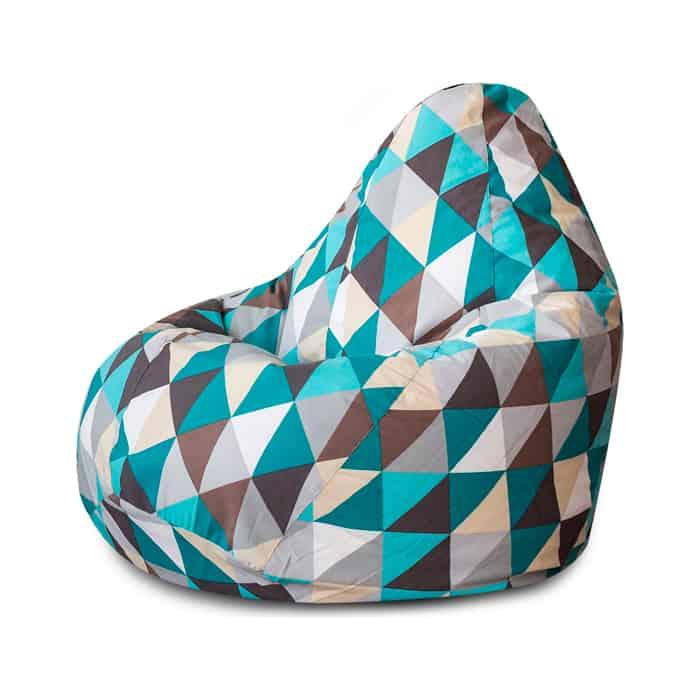 Кресло-мешок Bean-bag Груша изумруд XL