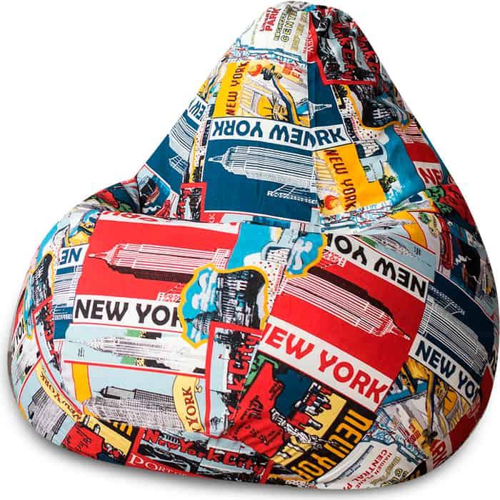 Кресло-мешок Bean-bag Груша New-York XL