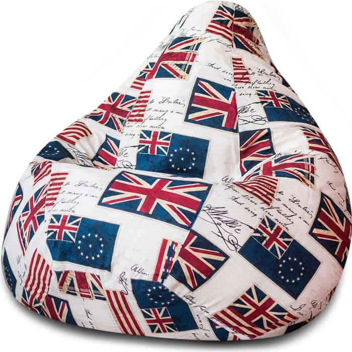 Кресло-мешок Bean-bag Груша флаги XL