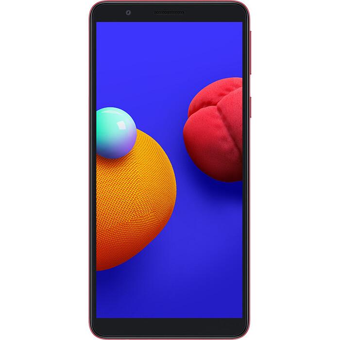 Смартфон Samsung Galaxy A01 Core 1/16Gb красный смартфон samsung galaxy a01 core 1 16gb красный