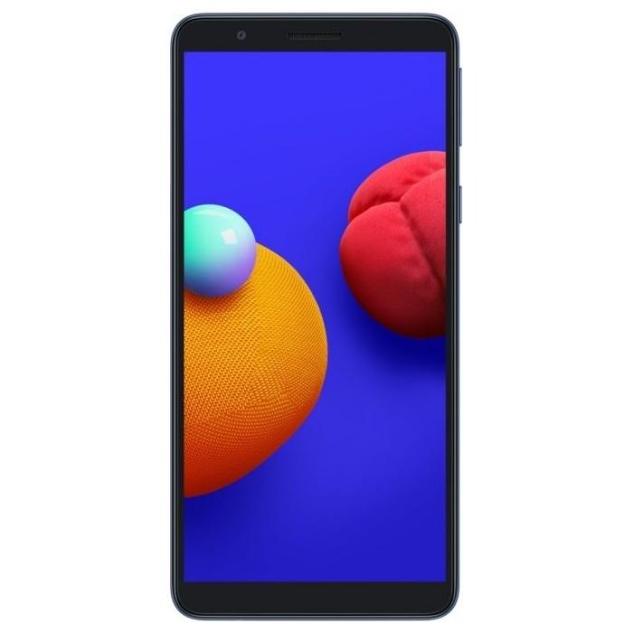 Смартфон Samsung Galaxy A01 Core 1/16Gb синий смартфон samsung galaxy a01 core 1 16gb красный