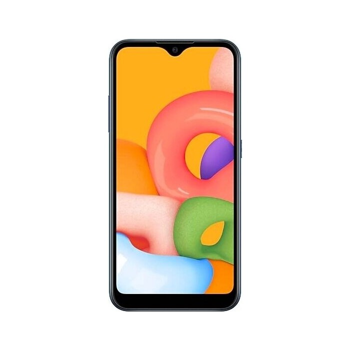 Смартфон Samsung Galaxy M01 3/32Gb черный