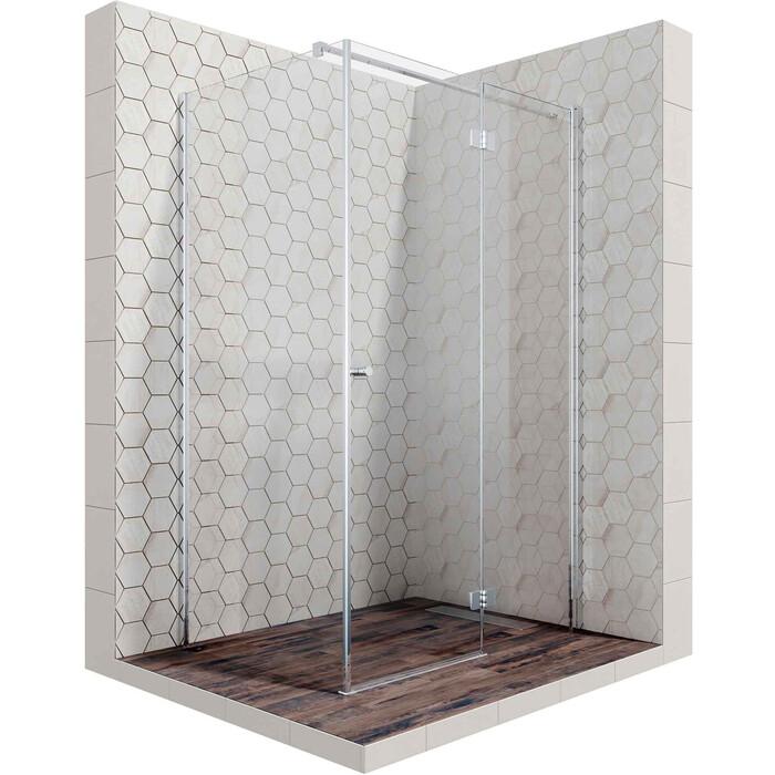 Душевой уголок Ambassador Diamond 120x80 прозрачный, хром (12011107R)