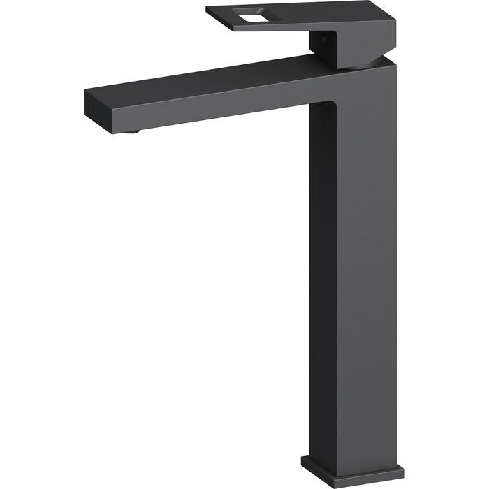 Смеситель для раковины Timo Briana высокий черный (7111/03F)