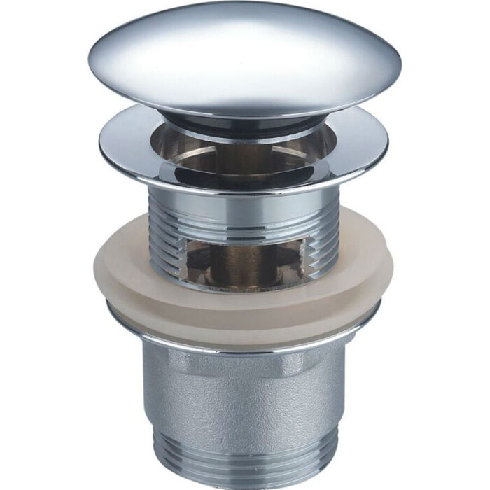 Донный клапан Orange Click-clack универсальный хром (X1-004cr)