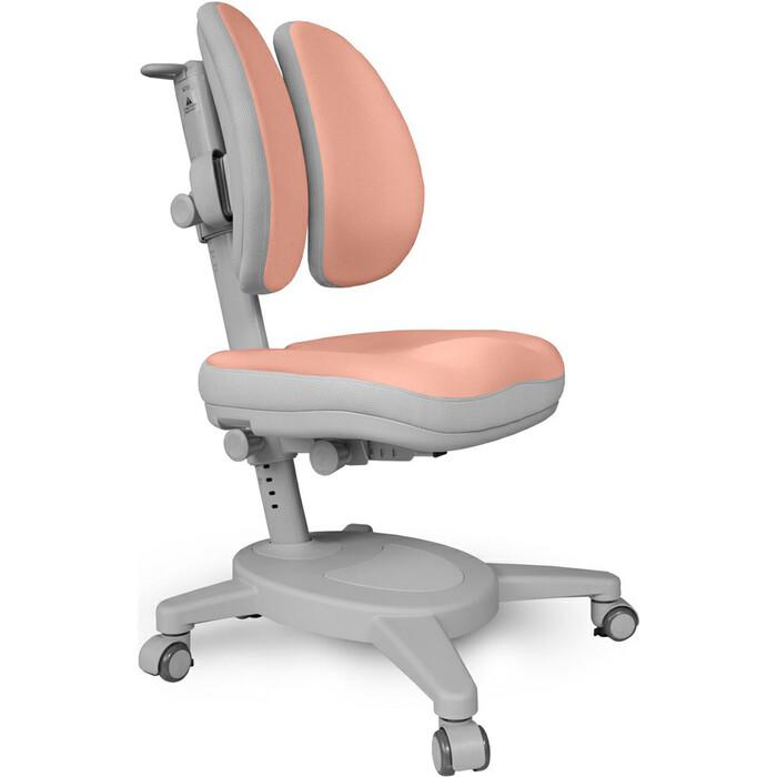 Кресло Mealux Onyx Duo (Y-115) PG + чехол обивка персиковая однотонная