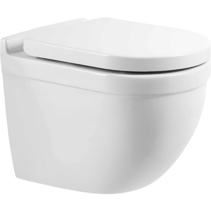 Унитаз подвесной (чаша) BelBagno Senso-R безободковый (BB017CHR)