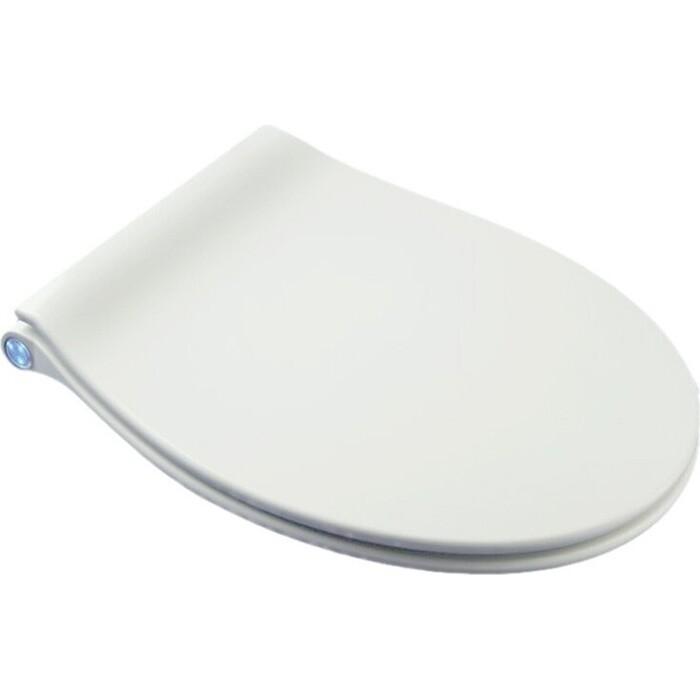 Сиденье для унитаза BelBagno Acqua с LED подветкой и микролифтом (BB216QSC)