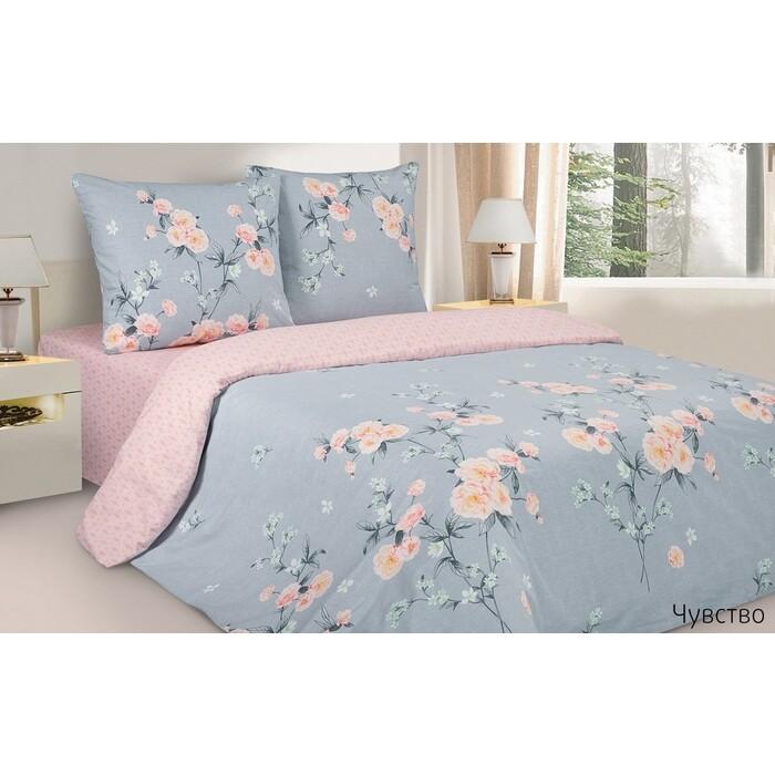 Комплект постельного белья Ecotex Поэтика Евро Чувство (4660054347788)