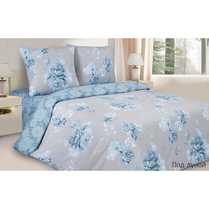 Комплект постельного белья Ecotex Поэтика Евро Под луной (4660054347900)