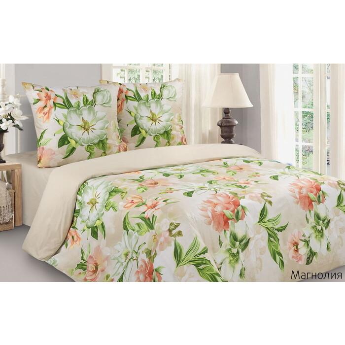 Комплект постельного белья Ecotex Поэтика Евро Магнолия (4660054348204)