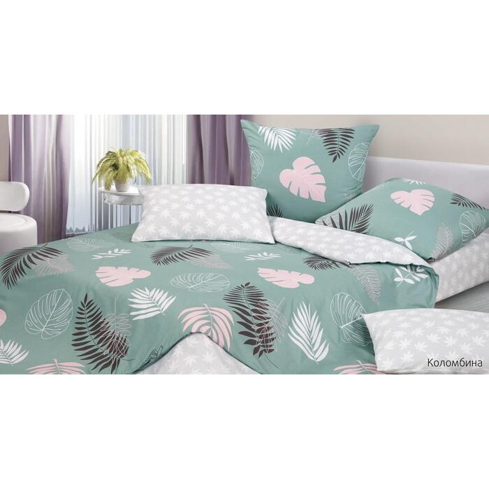 Комплект постельного белья Ecotex Гармоника 1,5 сп Коломбина (4660054348426)