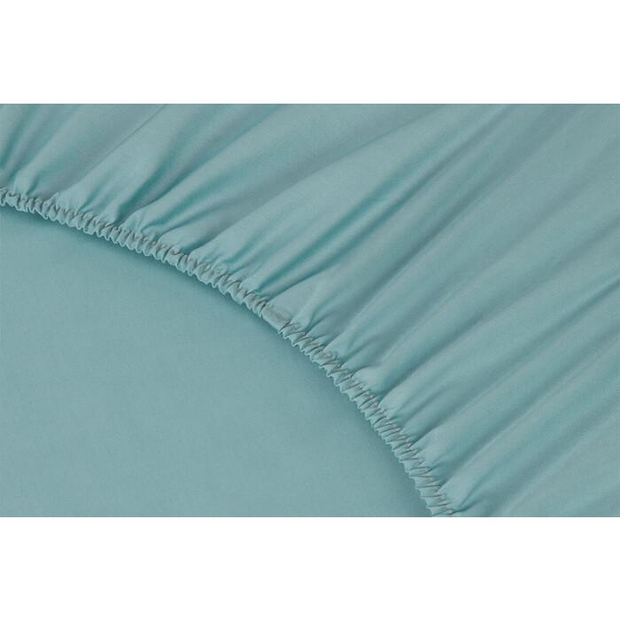 Ecotex Сатин 180x200x23 цвет бирюзовый (4660054346644)