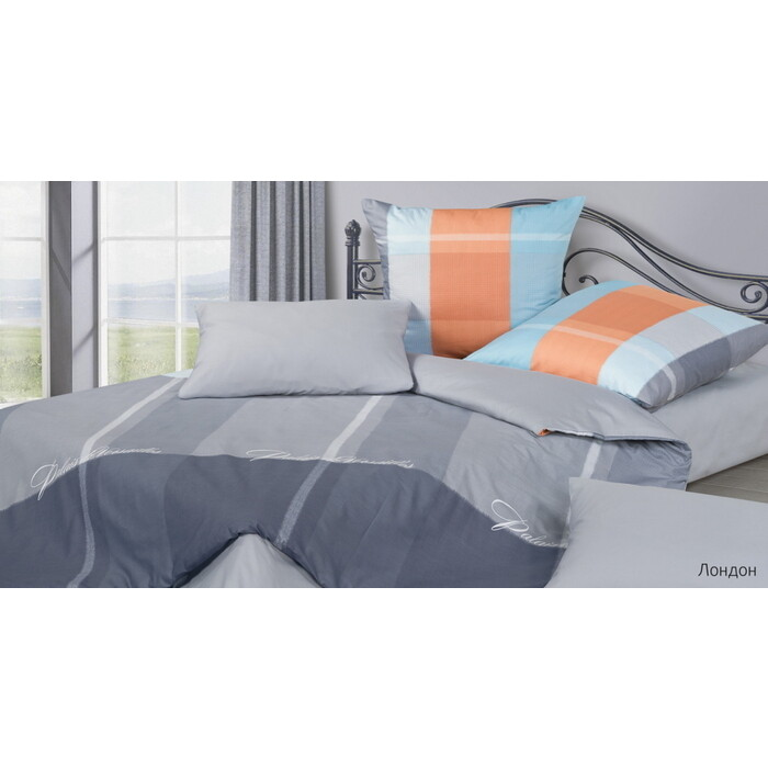 Комплект постельного белья Ecotex Гармоника Дуэт Лондон (4660054345623)