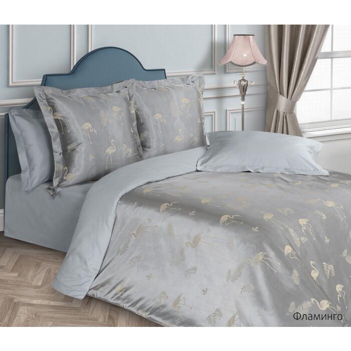 Комплект постельного белья Ecotex 2 сп. Эстетика Фламинго (4660054343872)