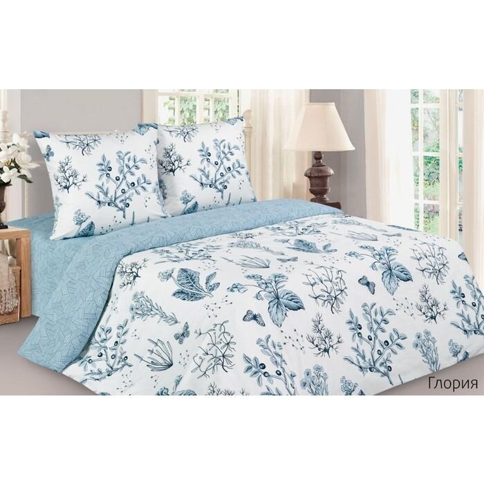 Комплект постельного белья Ecotex 1,5 сп Поэтика Глория (4650074958248)