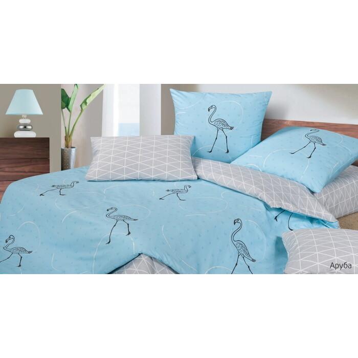 Комплект постельного белья Ecotex Гармоника Евро Аруба (4660054346545)