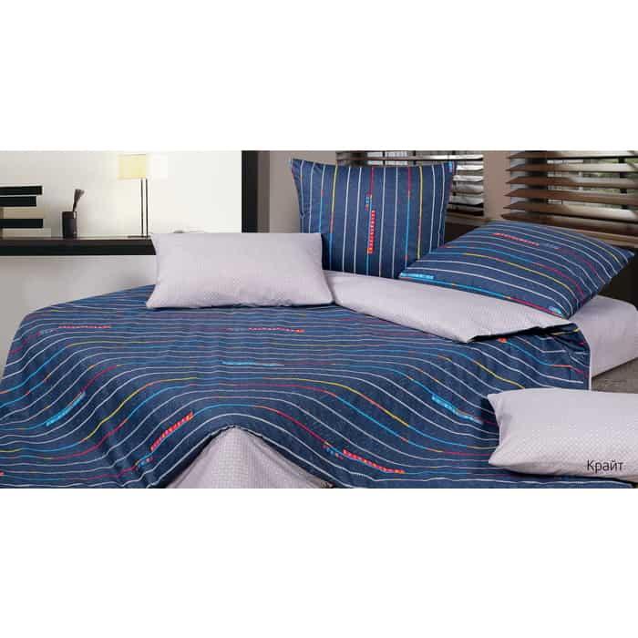 Комплект постельного белья Ecotex Гармоника Дуэт Крайт (4660054346514)