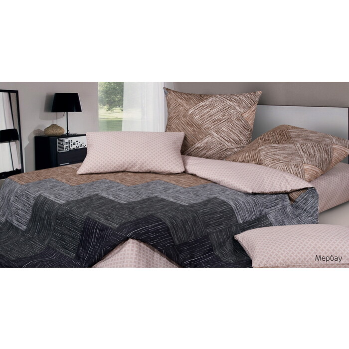 Комплект постельного белья Ecotex Гармоника 1,5 сп Мербау (4660054346286)