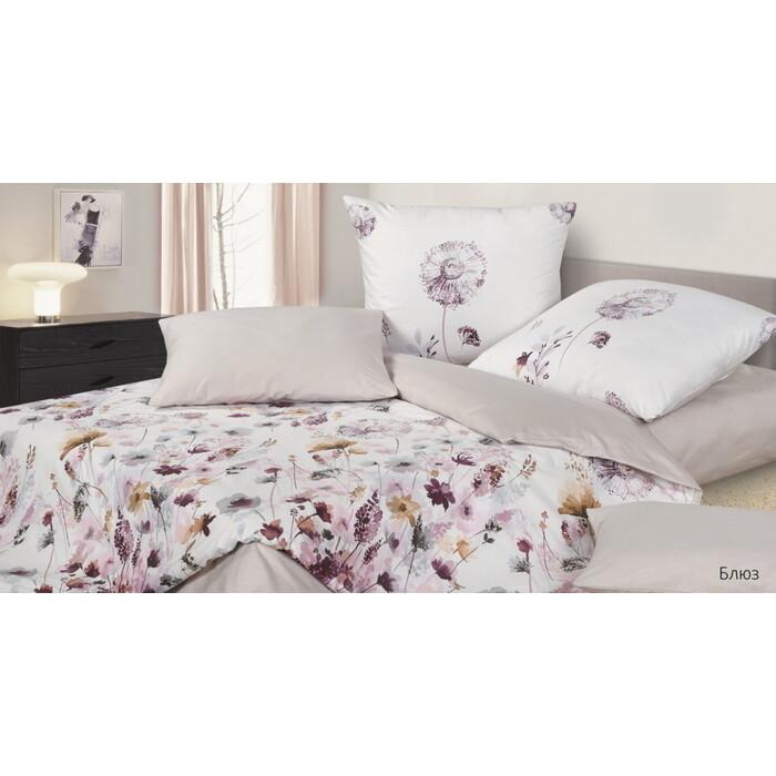 Комплект постельного белья Ecotex Гармоника Евро Блюз (4660054345739)