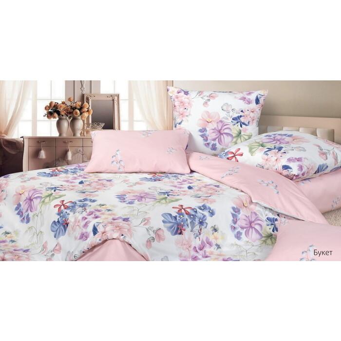 Комплект постельного белья Ecotex Гармоника 2 сп. Букет (4660054345524)