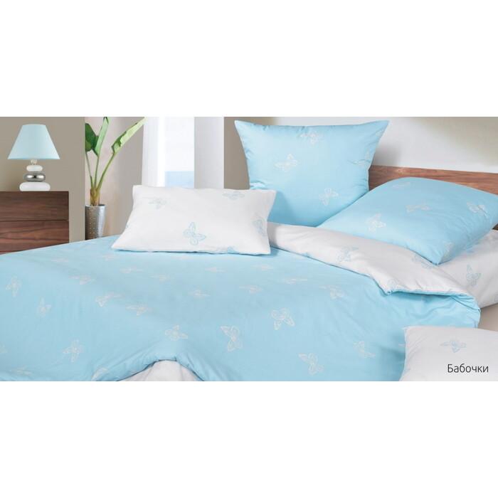Комплект постельного белья Ecotex Гармоника 1,5 сп Бабочки (4660054345357)