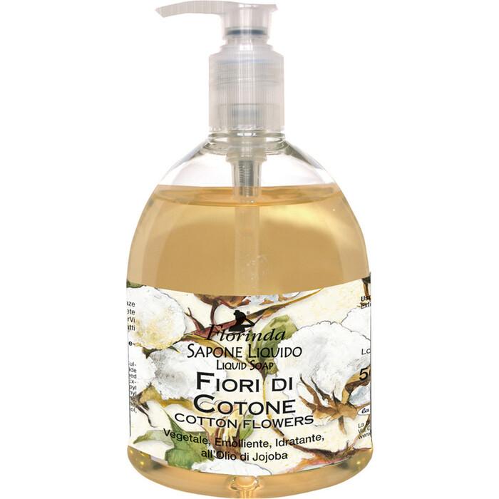 Жидкое мыло FLORINDA Fiori Di Cotone / Цветы Хлопка 500 мл