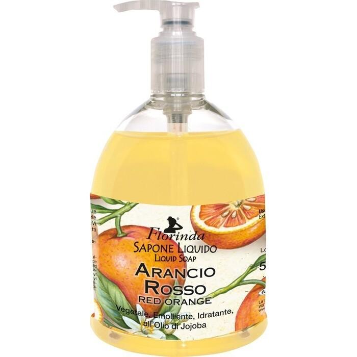 Жидкое мыло FLORINDA Arancio Rosso / Красный Апельсин 500 мл