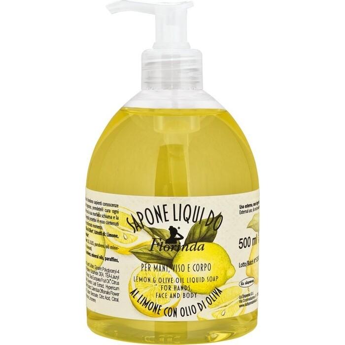 Жидкое мыло FLORINDA Limone / Лимон 500 мл