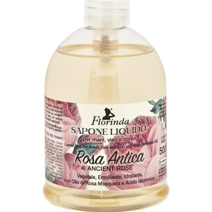 Жидкое мыло FLORINDA Rosa Antica / Античная Роза 500 мл