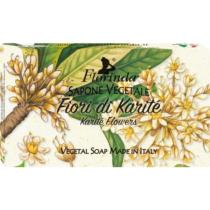 Мыло FLORINDA Fiori Di Karite / Цветок Карите 100 г