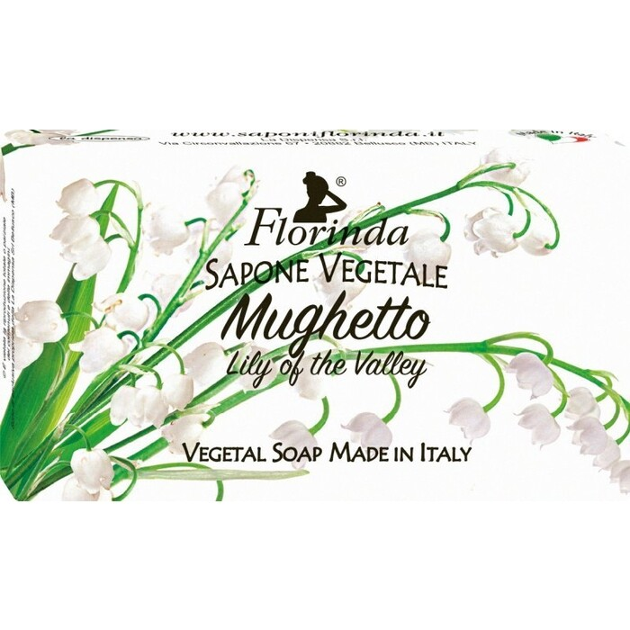 Мыло FLORINDA Mughetto / Ландыш 100 г