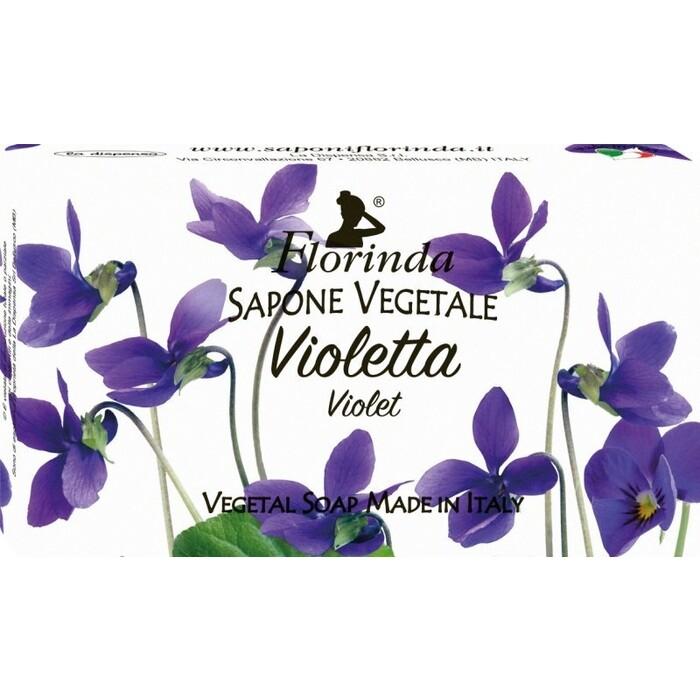 Мыло FLORINDA Violetta / Фиалка 100 г спот idlamp violetta 880 4pf darkgold