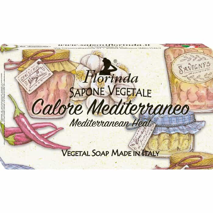 Мыло FLORINDA Calore Mediterraneo / Теплое Средиземноморье 100 г натуральное мыло dolce vita calore mediterraneo 100г