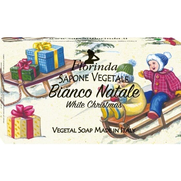 Мыло FLORINDA Bianco Natale / Рождественский Снег 100 г
