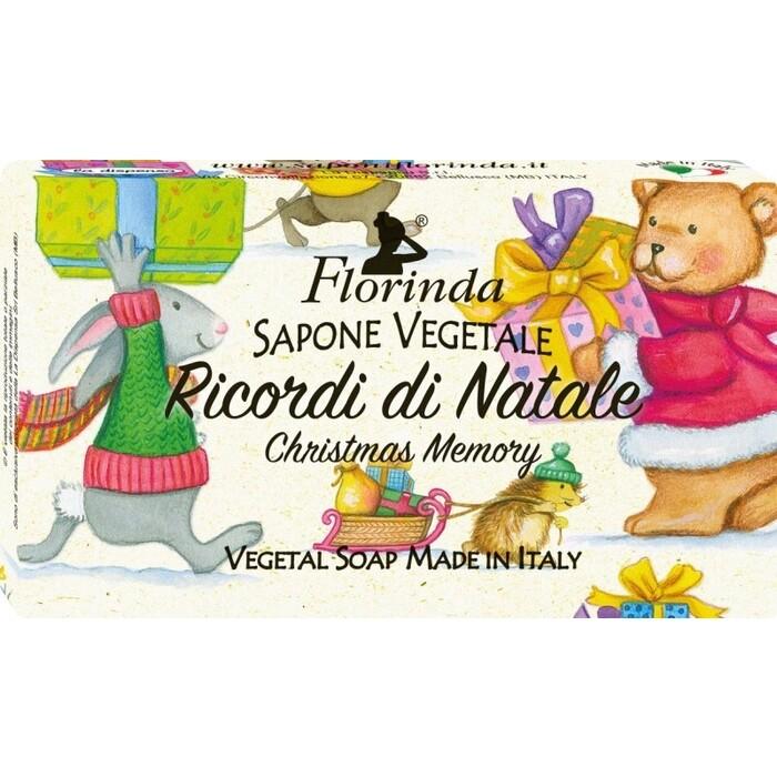 Мыло FLORINDA Ricordi Di Natale / Рождественские Воспоминания 100 г