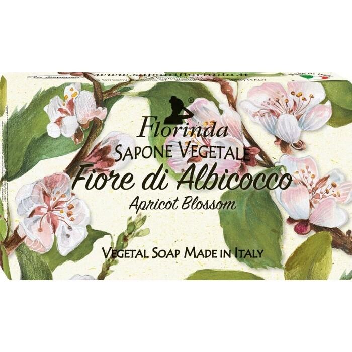 Мыло FLORINDA Fiore Di Albicocco / Абрикосовый Цвет 100 г