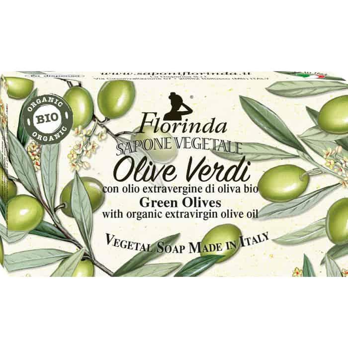 Мыло FLORINDA Olive Oil / Оливковое масло (органик) 100 г